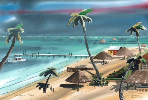 107-San-Pedro-watercolor-by-Terrance-Taylor-27×18-price-235
